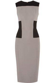 Victoria Beckham's cement grey dress