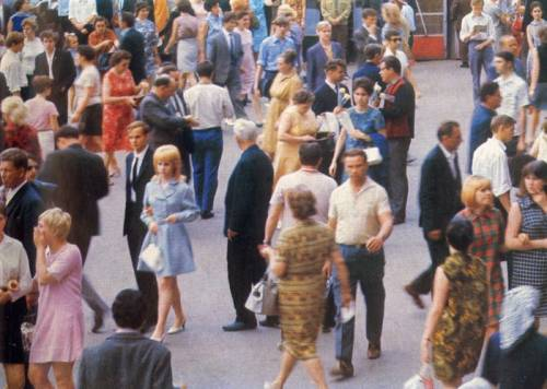 Moscow, 70s
